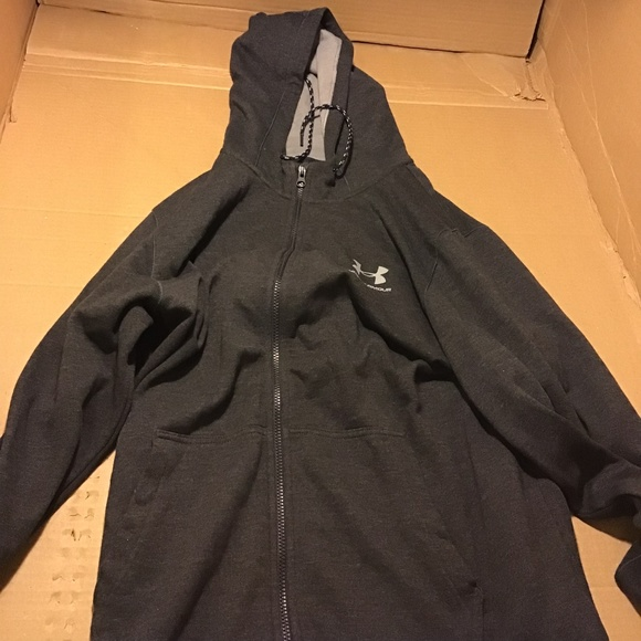 b501eb8442303 Under Armour Shirts | N Rival Fleece Fitted Full Zip | Poshmark